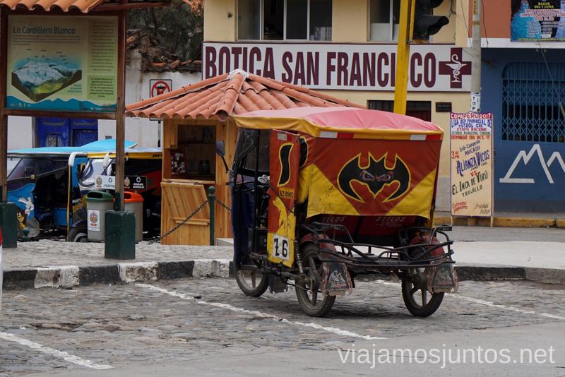 Transportes de Perú son muy variados - un mototaxi Consejos prácticos para viajar a Perú #PerúJuntos