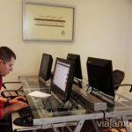 Centro informático que hay en cada Casa Andina Hotels Casa Andina Hotels por Peru #PerúJuntos Perú