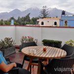 Impresionantes vistas desde la azotea de Casa Andina Arequipa Hoteles Casa andina por Peru #PerúJuntos Perú