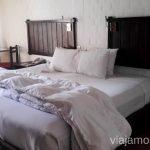 La gran cama con manta eléctrica en Casa Andina Colca Hoteles Casa andina por Peru #PerúJuntos Perú