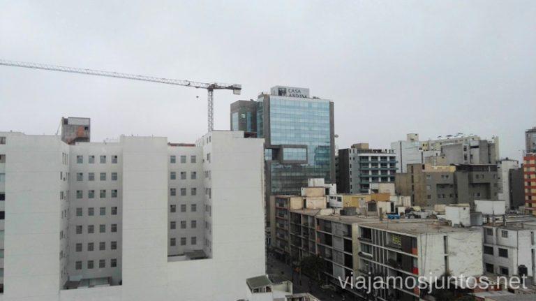 Vistas desde Casa Andina Select Miraflores a la Casa Andina Premium Miraflores Casa Andina Hotels por Peru #PerúJuntos Perú