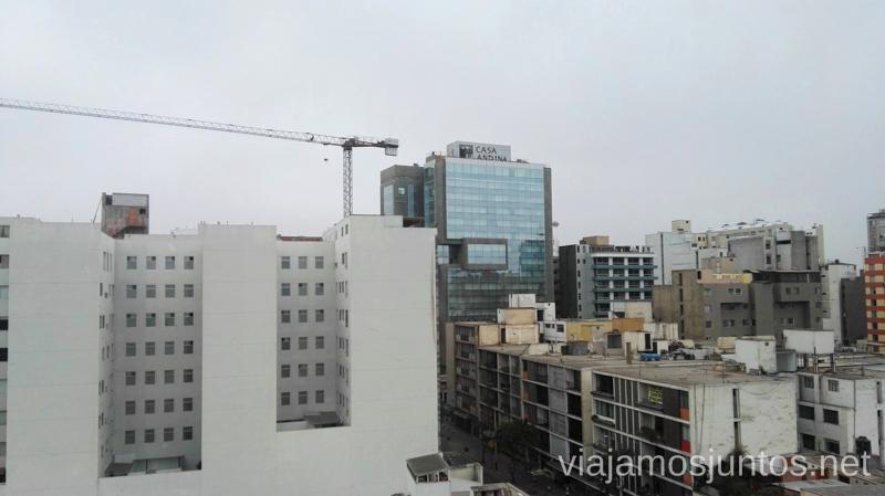 Vistas desde Casa Andina Select Miraflores a la Casa Andina Premium Miraflores Casa Andina Hoteles por Peru #PerúJuntos Perú