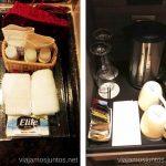 Detalles de aseo y té/café en la habitación premium, Casa Andina Miraflores Casa Andina Hotels por Peru #PerúJuntos Perú