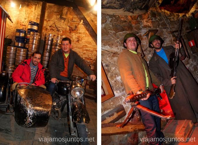 Kryivka, la casa hecha en la tierra de los tiempos de la Guerra Donde comer en Lviv Restaurantes curiosos y bien de precio Ucrania