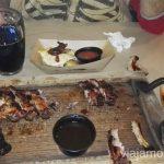 """Rebernia """"Pid Arsenalom"""" - un sitio donde comer costillas ricas en Lviv Donde comer en Lviv Restaurantes curiosos y bien de precio Ucrania"""