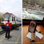 Esperando el embarque de Inca Rail en Ollantaytambo destino Machu Picchu (Aguas Calientes) Cómo llegar a Machu Picchu Aguas Calientes desde Cusco y Ollantaytambo Peru #PerúJuntos Perú