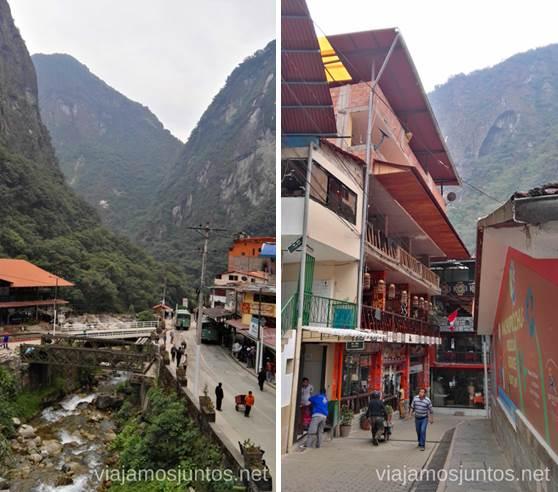 Aguas Calientes, el pueblo-base para llegar a Machu Picchu Cómo llegar a Machu Picchu Aguas Calientes desde Cusco y Ollantaytambo Peru #PerúJuntos Perú