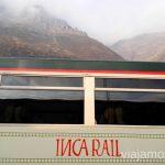 Inca Rail, una de la compañías que te lleva a Aguas Calientes Cómo llegar a Machu Picchu Aguas Calientes desde Cusco y Ollantaytambo Peru #PerúJuntos Perú