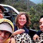 Nuestros compañeros de viaje en autostop. Cómo llegar a Machu Picchu Aguas Calientes desde Cusco y Ollantaytambo Peru #PerúJuntos Perú