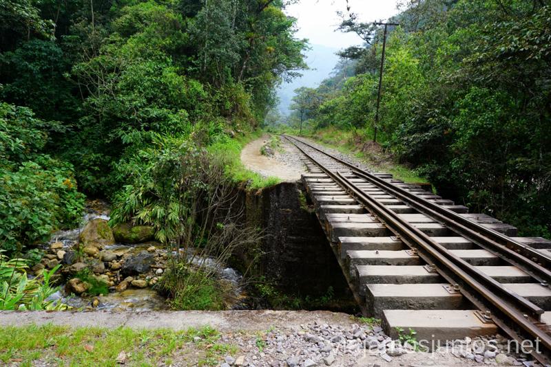 El famoso trekking de Aguas Calientes a la Central hidroeléctrica Cómo llegar a Machu Picchu Aguas Calientes desde Cusco y Ollantaytambo Peru #PerúJuntos Perú