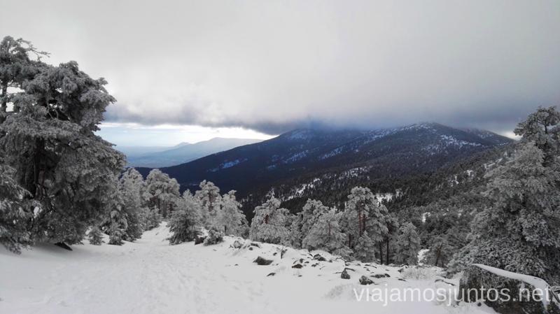 Desde la Calzada Romana bajando a Cercedilla. 3 rutas para disfrutar de la nieve cerca de Madrid
