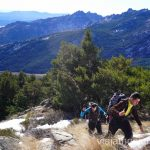 De ruta hacía el pico de la Naarra. 3 rutas para disfrutar de la nieve cerca de Madrid