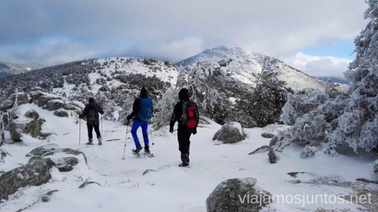 Desde el Puerto de El León. 3 rutas para disfrutar de la nieve cerca de Madrid