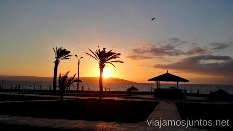 Vistas desde nuestro alojamiento Guest To Guest en Nuevo Paracas. Qué ver y hacer en Paracas. Organizar la visita a las islas Ballestas y Reserva Nacional de Paracas Peru #PerúJuntos Perú