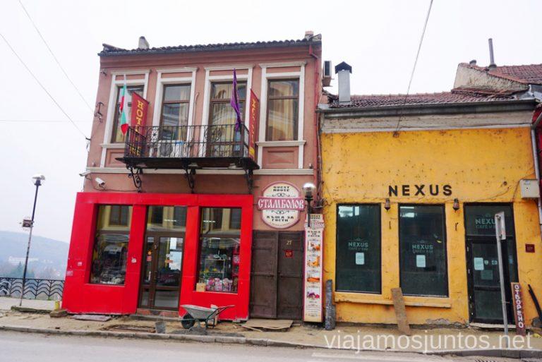 Hotel Stambolov en Veliko Tarnovo. Dónde dormir y consejos prácticos para encontrar alojamiento en Bulgaria. Nuestros hoteles favoritos