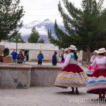Bailes tradicionales en el Valle de Colca. Visitar Arquipa Peru #PerúJuntos Perú