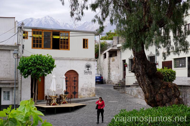 Las calles de Arequipa. Visitar Arquipa Peru #PerúJuntos Perú