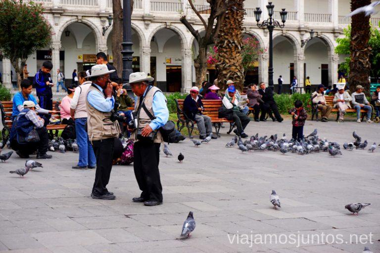 Plaza de Armas de Arequipa. Visitar Arquipa Peru #PerúJuntos Perú