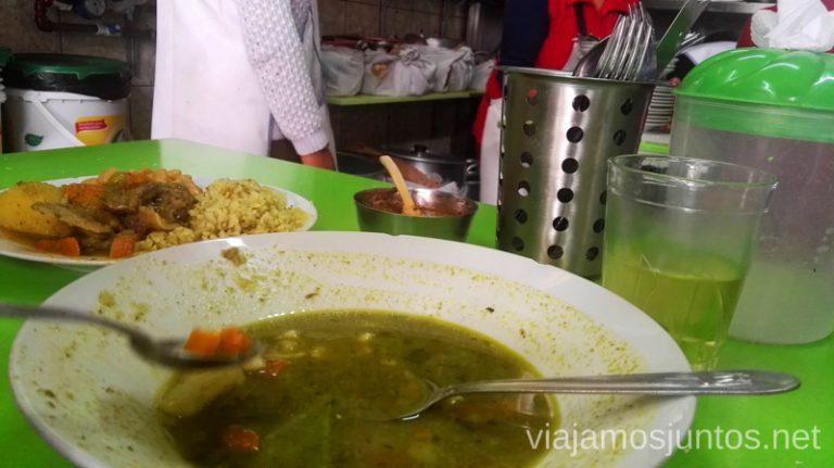 Comida en el mercado de Arequipa. Visitar Arquipa Peru #PerúJuntos Perú