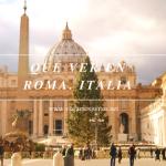 Qué ver y hacer en Roma Dónde comer en Roma