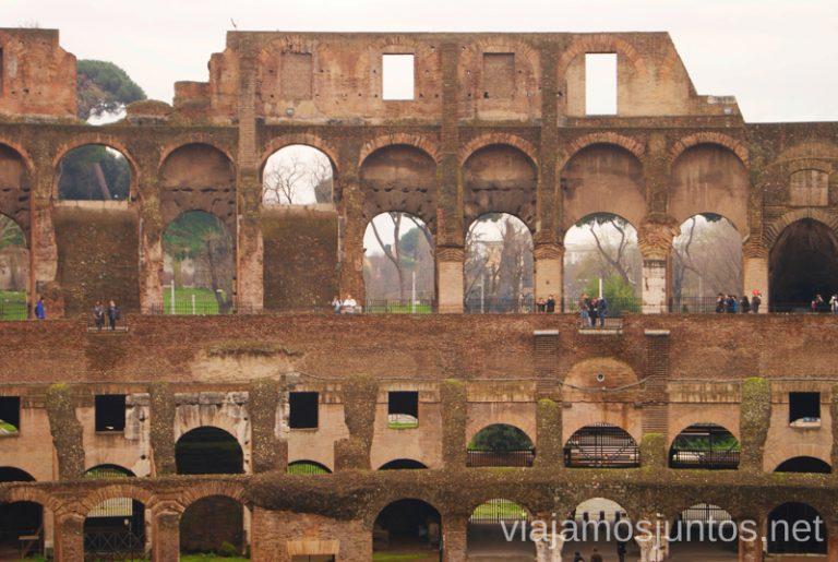 El Coliseo de Roma. Qué ver y hacer en Roma Dónde comer en Roma