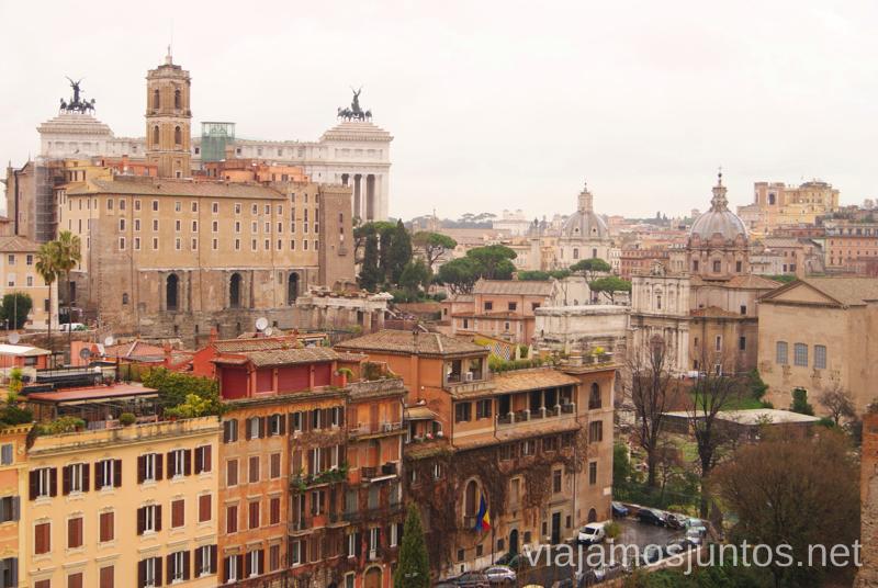 Vistas de Roma ecléctica. Qué ver y hacer en Roma Dónde comer en Roma