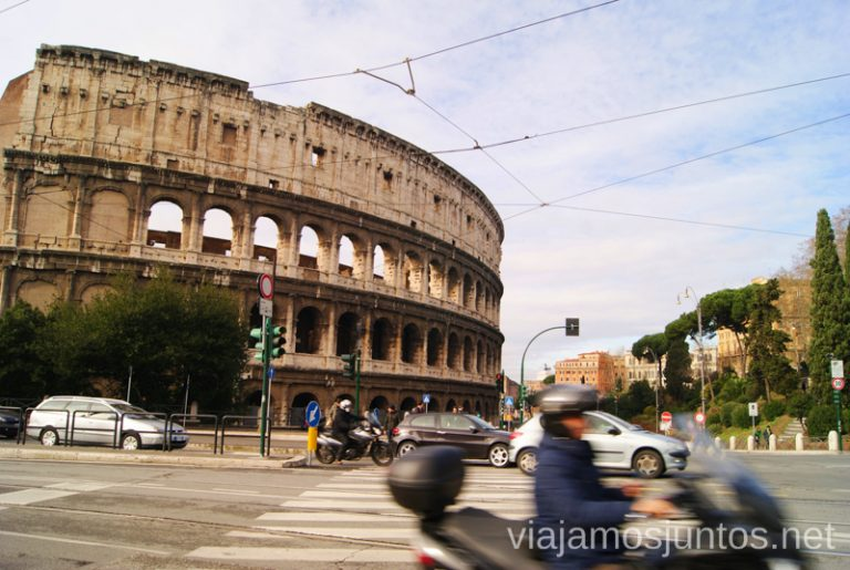 ¿Te atreves a conducir en Roma? Qué ver y hacer en Roma Dónde comer en Roma