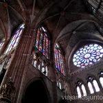 Las famosas vidrieras de la Catedral de León. Qué ver y qué hacer en León y Valporquero Castilla y León