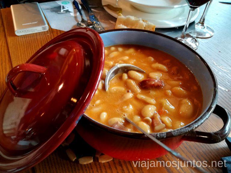 Restaurante de cocina montañesa La Roca. Vegacervera. Qué ver y qué hacer en León y Valporquero Castilla y León