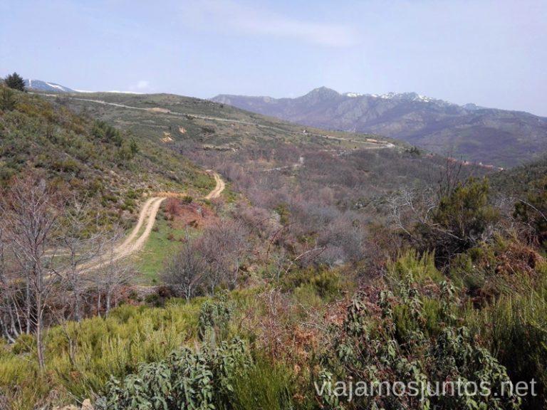 Senderismo en los alrededores del pueblo de la Hiruela en la Sierra del Rincón. Que hacer en la Sierra Norte de Madrid Rutas de Senderismo