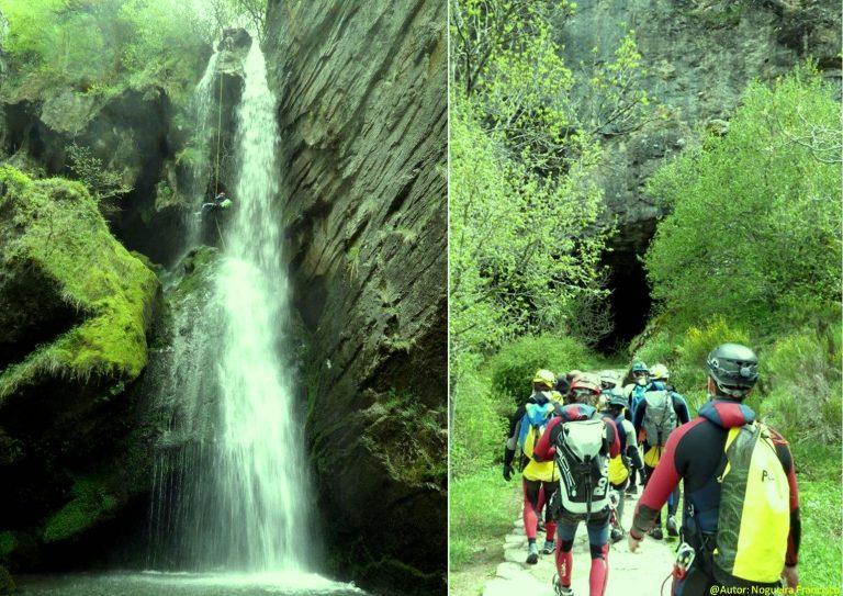 La entrada y la salida de la cueva de Valporquero. Qué ver y qué hacer en León y Valporquero Castilla y León