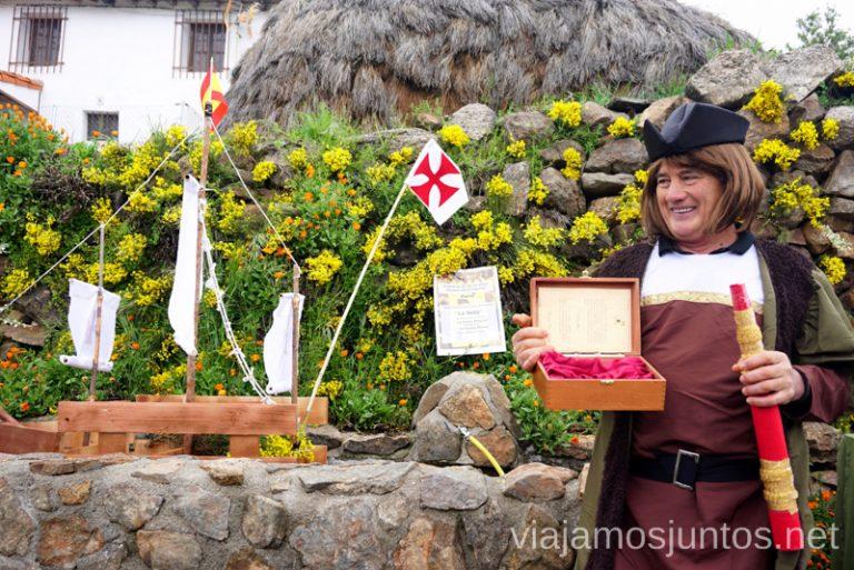 Cristobal Colón en San Bartolomé de Tormés. Qué hacer en Gredos Norte, la Sierra Norte de Gredos. Dónde dormir y dónde comer