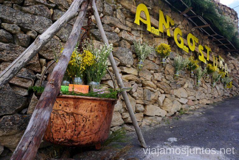 La Angostura en Gredos Norte. Qué hacer en Gredos Norte, la Sierra Norte de Gredos. Dónde dormir y dónde comer