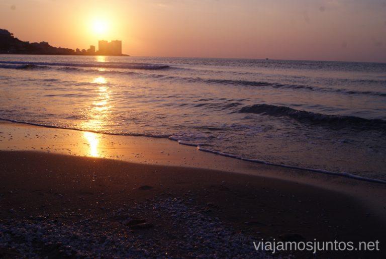 Playas de Cullera al atardecer Qué ver y hacer en Cullera en un fin de semana Valencia Comunidad Valenciana
