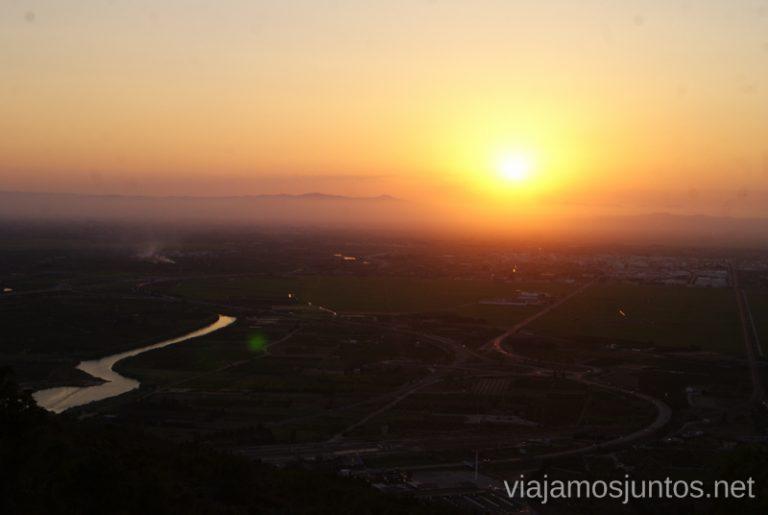 Vistas desde el mirador del Centro Meteorológico de Cullera Qué ver y hacer en Cullera en un fin de semana Valencia Comunidad Valenciana