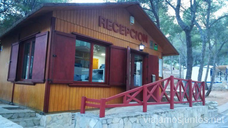 Recepción del camping Santa Marta en Cullera Qué ver y hacer en Cullera en un fin de semana Valencia Comunidad Valenciana
