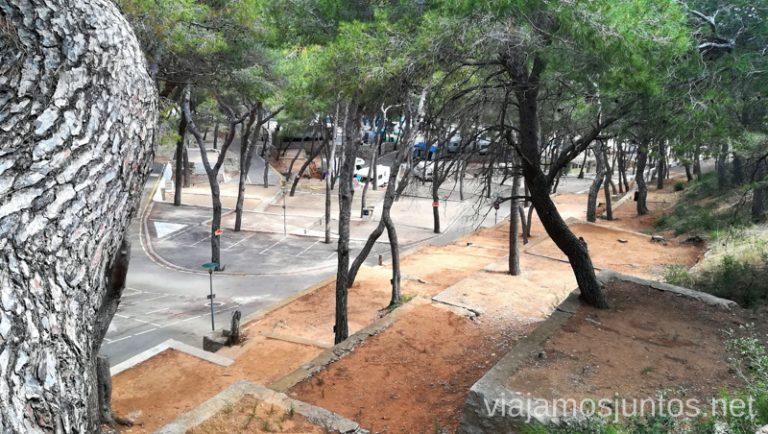 Parcelas para acampada en el camping Santa Marta Qué ver y hacer en Cullera en un fin de semana Valencia Comunidad Valenciana
