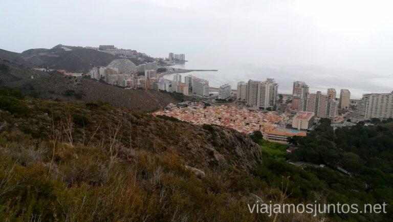 Vistas desde la ruta de senderismo de la ermita rupestre Santa Marta Qué ver y hacer en Cullera en un fin de semana Valencia Comunidad Valenciana