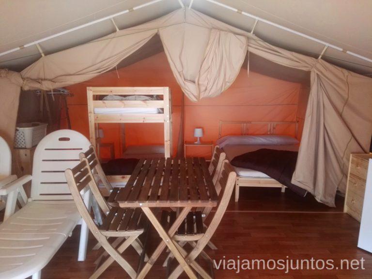 Tienda-safari en el camping Santa Marta Qué ver y hacer en Cullera en un fin de semana Valencia Comunidad Valenciana
