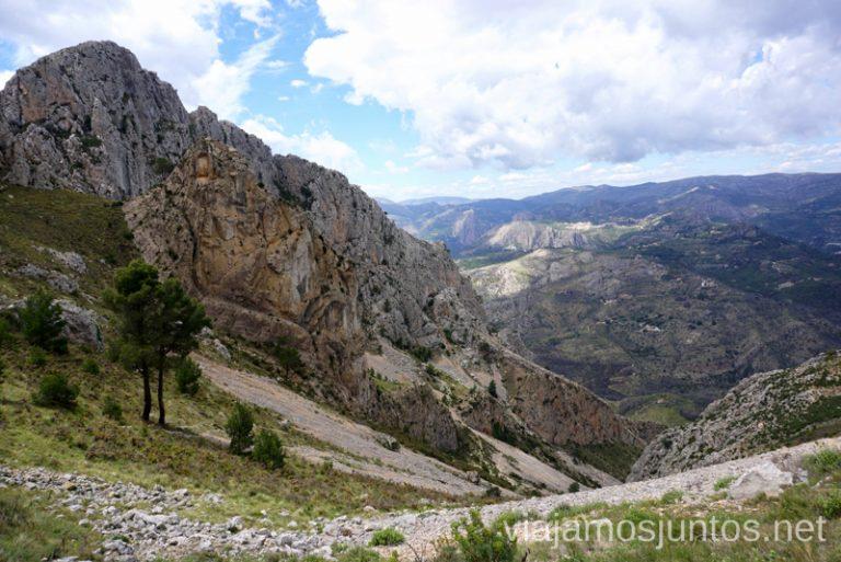 Vistas impresionantes de la Sierra de Bernia y Ferrer, Ruta circular en la Sierra de Bernia y Ferrer Qué hacer en Benidorm y alrededores #RumboSurJuntos