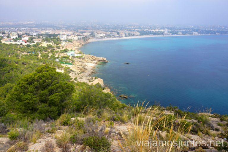 Vistas de L'Albir y Alfaz del Pi. Ruta del Faro de L'Albir y Alt del Gobernador (Repetidor) Qué hacer en Benidorm y alrededores #RumboSurJuntos