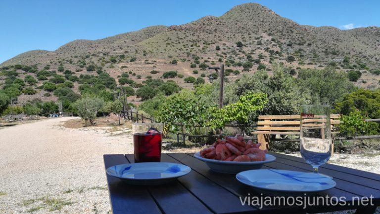 Nuestro alojamiento cerca de los Albaricoques, La Minilla. Qué ver y hacer en Cabo de Gata. Dónde alojarse. #RumboSurJuntos