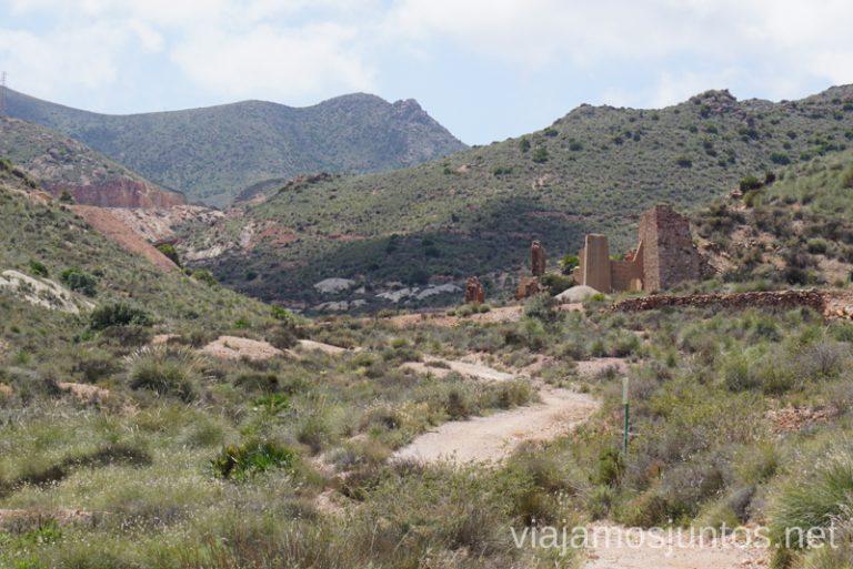 Las Minas de oro del Cinto. Ruta de senderismo de las Minas de Cinto o de Rodalquilar, Cabo de Gata - Níjar #RumboSurJuntos