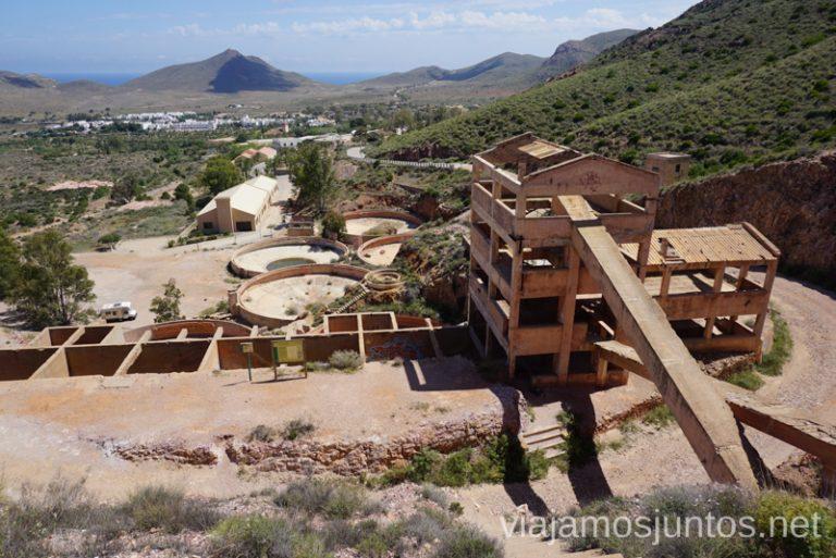 Ruta de las Minas del Cintj. Cabo de Gata-Níjar. Qué ver y hacer en Cabo de Gata. Dónde alojarse. #RumboSurJuntos
