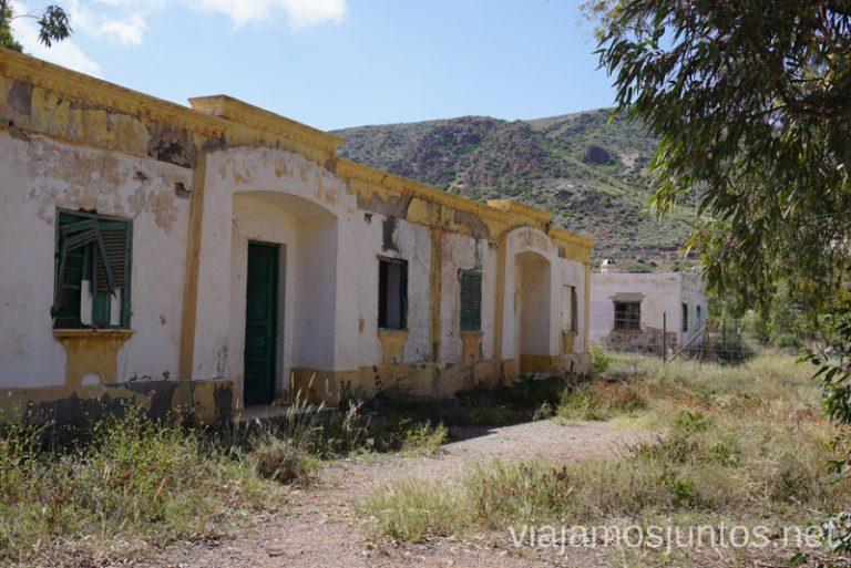 Poblado Minero abandonado en Rodalquilar. Minas de oro de Rodalquilar. Ruta de senderismo de las Minas de Cinto o de Rodalquilar, Cabo de Gata - Níjar #RumboSurJuntos