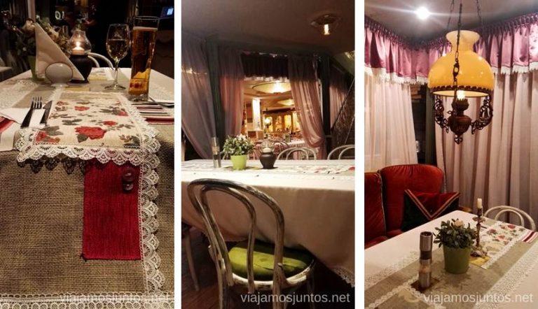 Restaurante Schastliviza en Veliko Tarnovo. Dónde y qué comer en Bulgaria. Gastronomía de Bulgaria #BulgariaJuntos