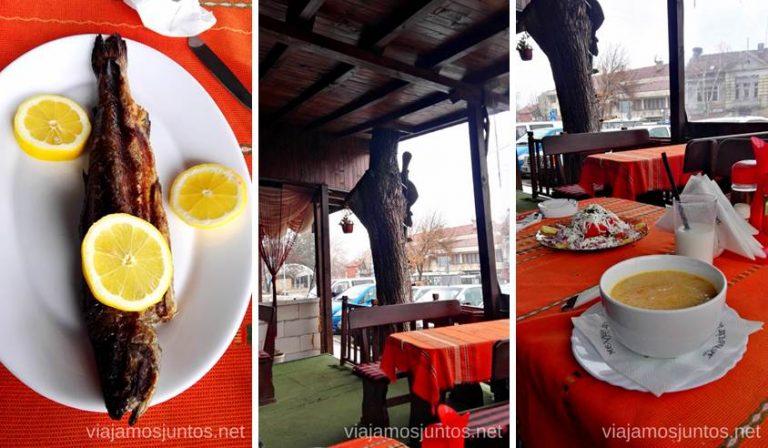 """""""Mejana"""" - restaurante Shtarkela. Un lugar muy auténtico. Dónde y qué comer en Bulgaria. Gastronomía de Bulgaria #BulgariaJuntos"""