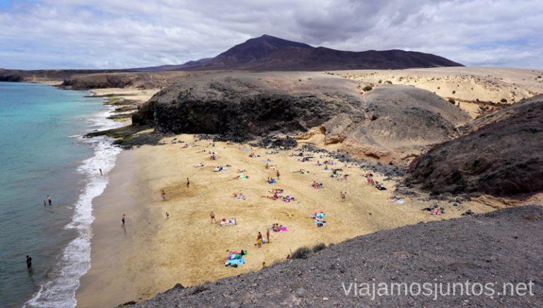 Playas del Papagayo Qué ver y hacer en Lanzarote, #LanzaroteJuntos