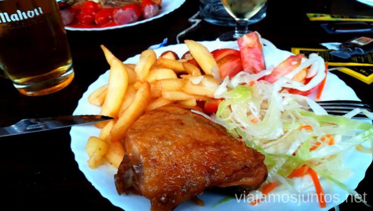 Buffet libre Los Cascajos en Haría. Dónde comer en Lanzarote, Islas Canarias #LanzaroteJuntos Canary Islands Gastronomía