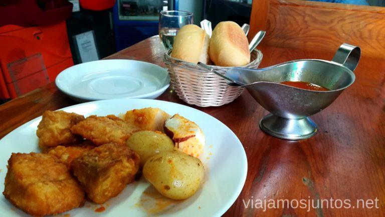 Platos caseros en el Bar Stop. Dónde comer en Lanzarote, Islas Canarias #LanzaroteJuntos Canary Islands Gastronomía